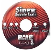 BMG Tackle Sinew Supple Braid Various