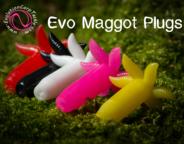 Evolution Carp Tackle Maggot Plugs (pop-up) 6 per pack Various Colours