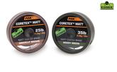 Fox EDGES™ Coretex™ Matt Coated Braid Hooklength 25lb 20m Green Or Brown