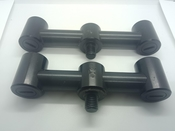 Fox Black Label Narrow Buzz Bar - 2 Rod Fixed Pair Used