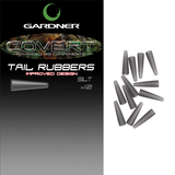 Gardner Tackle Covert Tail Rubbers Green or Brown (Improved Design)