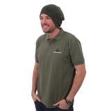 Gardner Polo Shirt Olive Green / Black All Sizes
