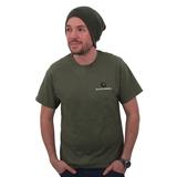 Gardner T-Shirt Olive Green / Black All Sizes