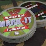 Gardner Tackle 'Mark-It' Marker Elastic Fluro Green (8m)