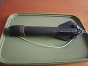 Gardner Tackle Bait/Boilie Rocket Spod Black Very Rare (Used)