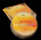 Gardner Mirage Platinum Fluorocarbon Mono Line 15lb 0.35mm 200m
