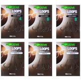 Korda Ready-Tied Loop Rigs Krank/Wide Gape Various