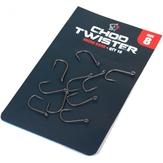 Nash Chod Twister Hooks Various Sizes