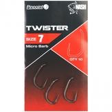 Nash Pinpoint Twister Hooks Various Sizes
