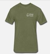 Carpy Tackle T-Shirt Military Green Various Sizes