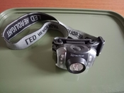 X Tactical Headtorch Used